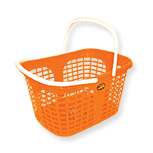 Shopping basket with two handles